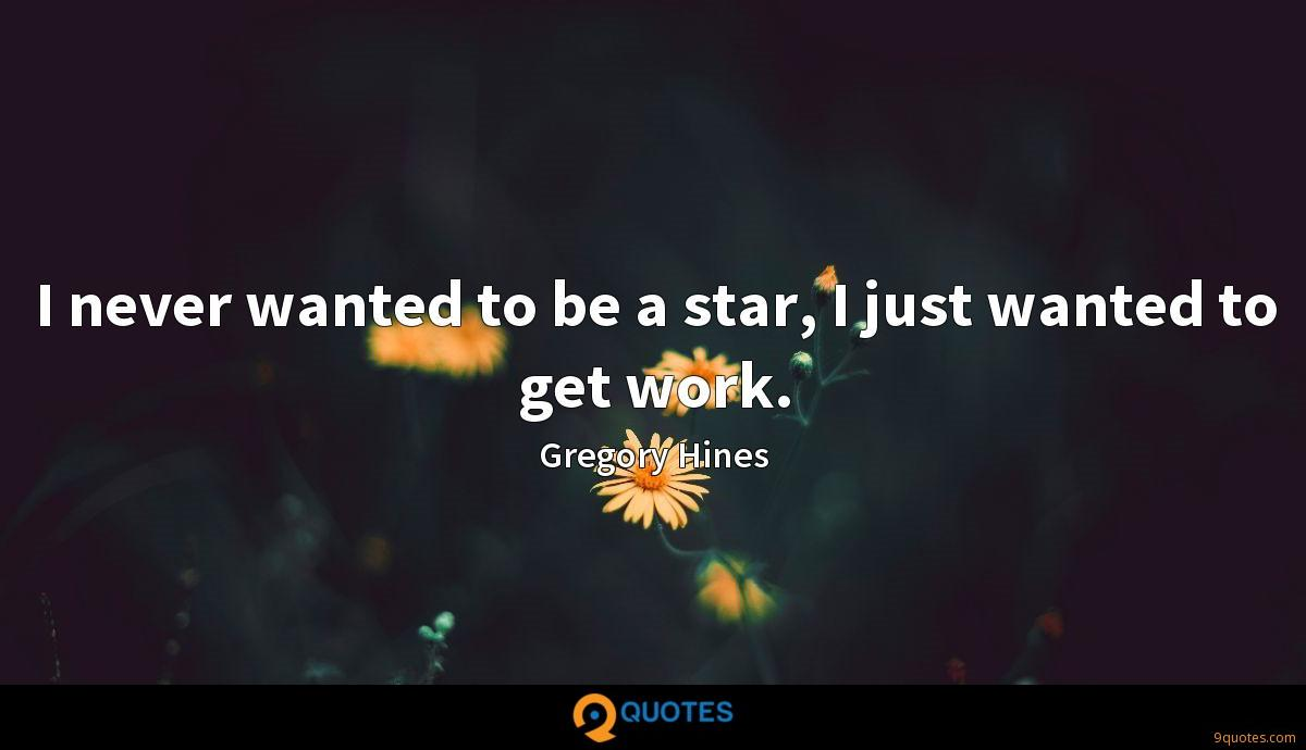 Gregory Hines quotes