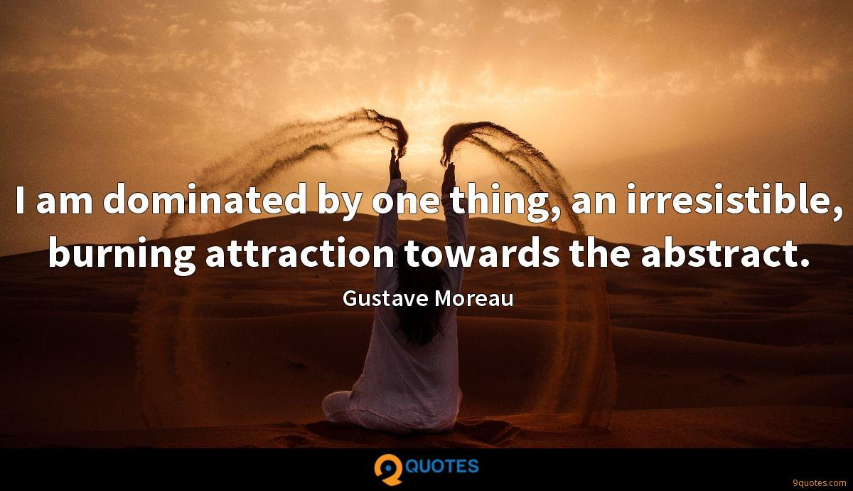 Gustave Moreau quotes