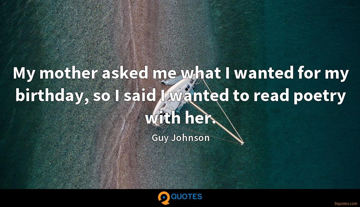 Guy Johnson quotes