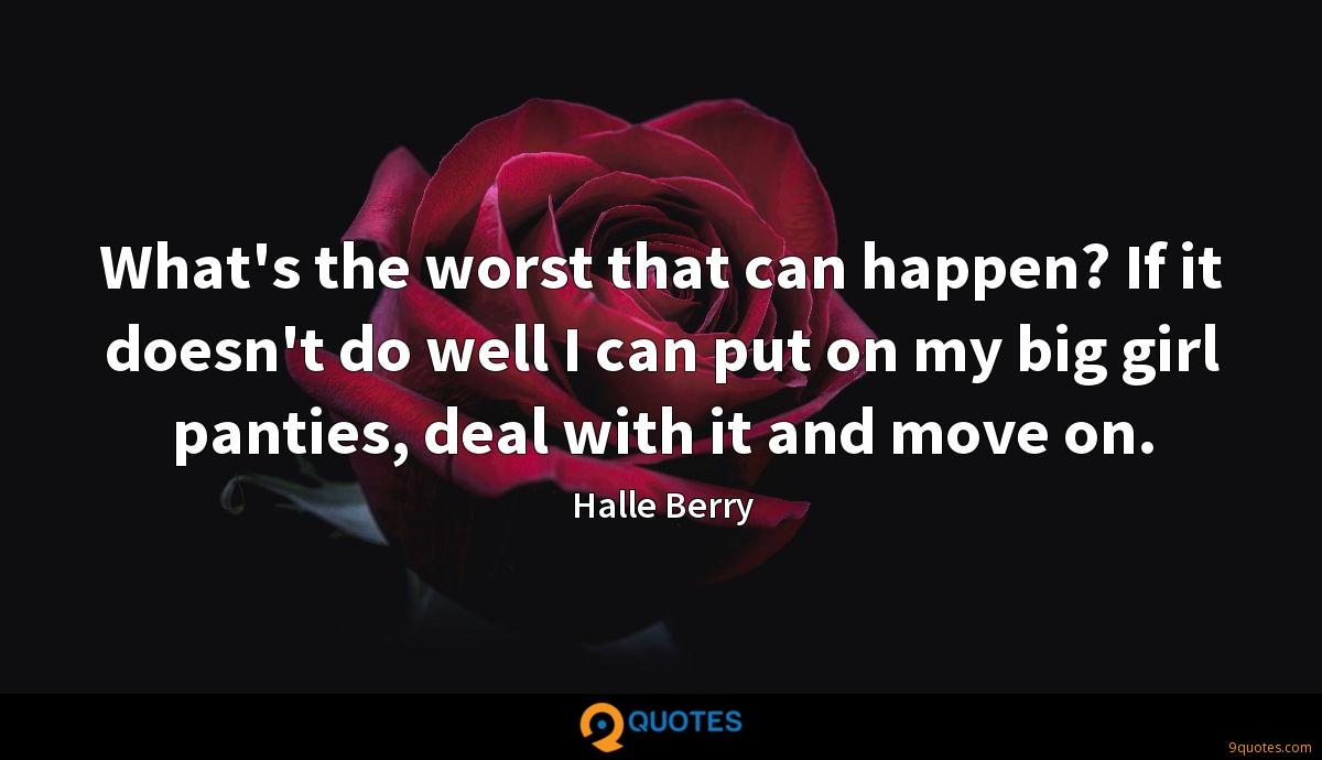 What's the worst that can happen? If it doesn't do well I can put on my big girl panties, deal with it and move on.