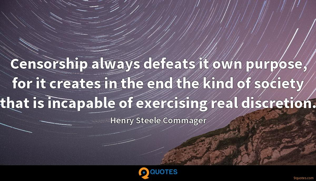 Henry Steele Commager quotes