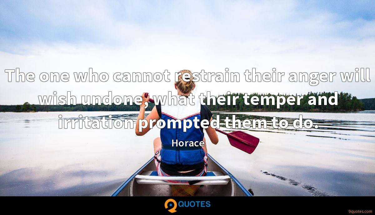 Horace quotes