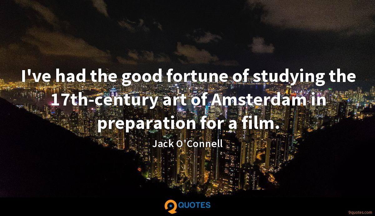 I've had the good fortune of studying the 17th-century art of Amsterdam in preparation for a film.
