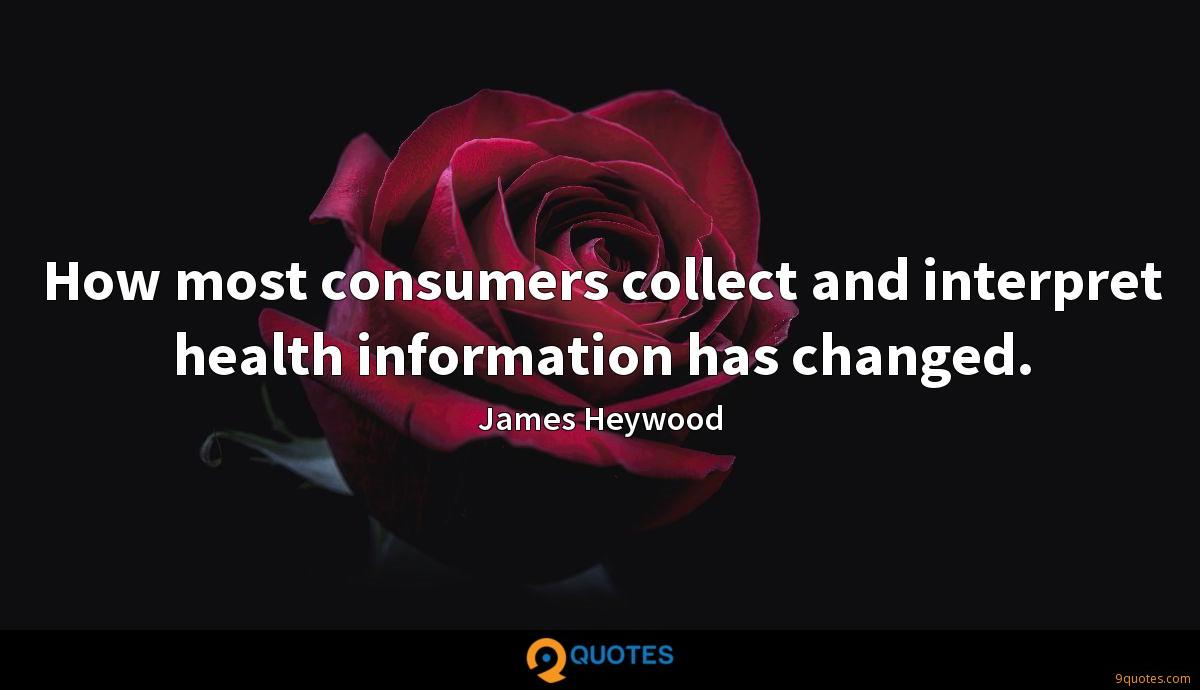 How most consumers collect and interpret health information has changed.