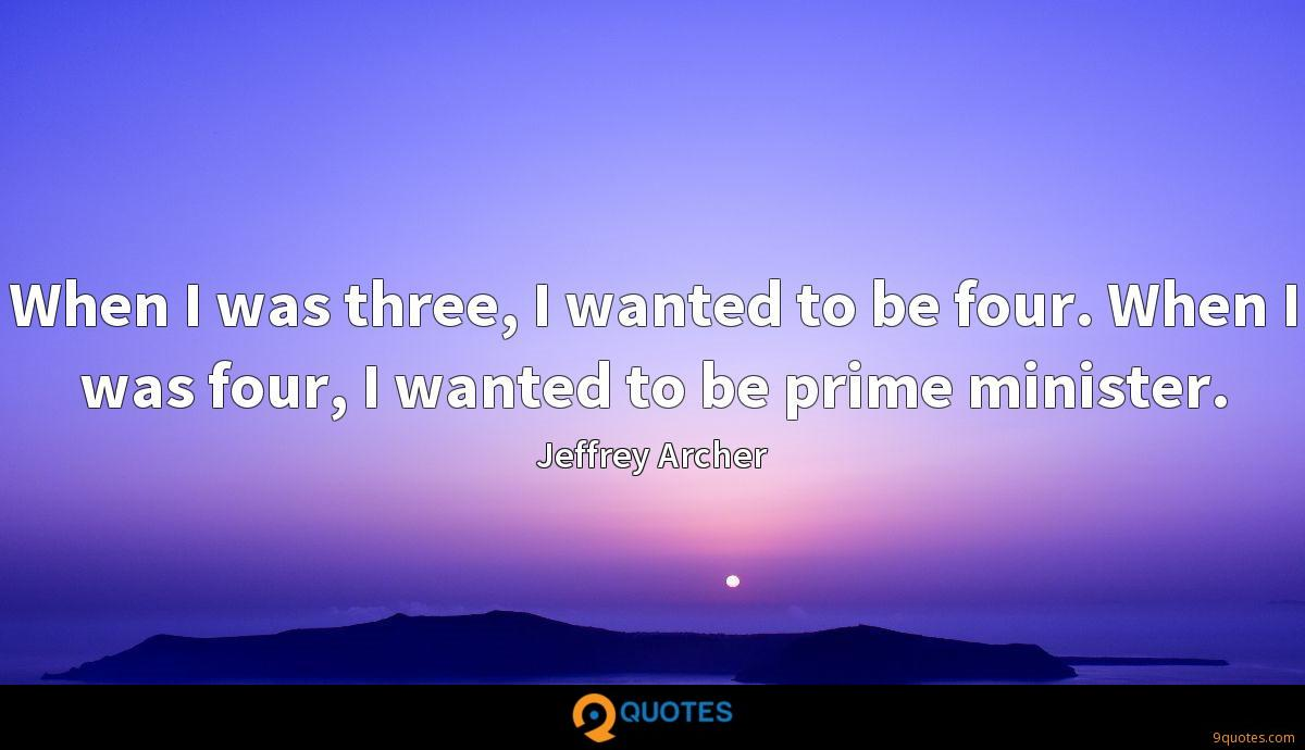 Jeffrey Archer quotes