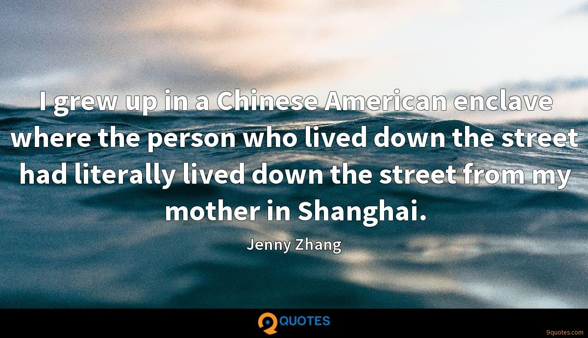 Jenny Zhang quotes