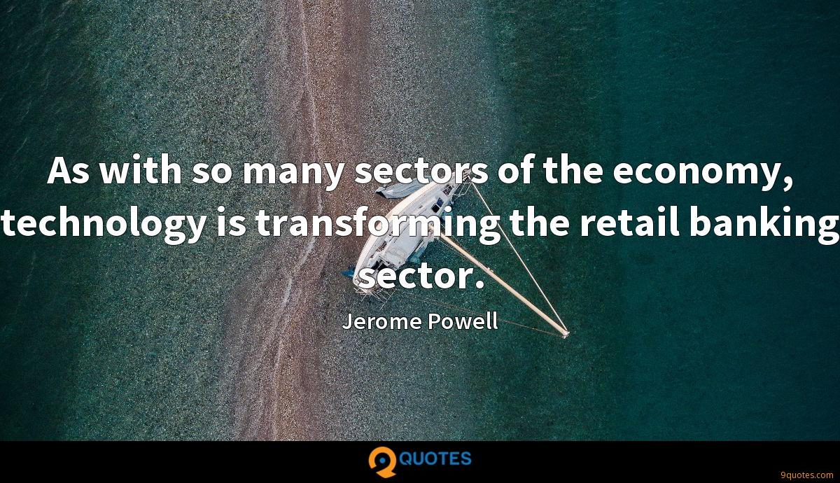 Jerome Powell quotes