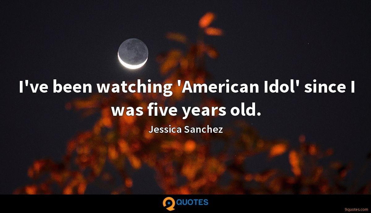 Jessica Sanchez quotes