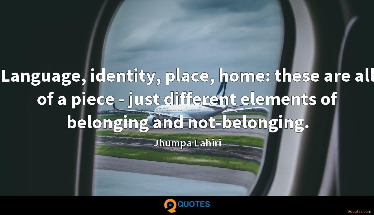 Jhumpa Lahiri quotes