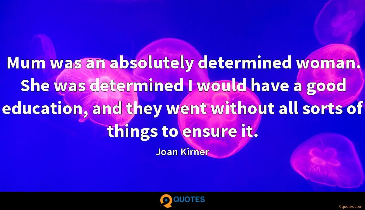 Joan Kirner quotes