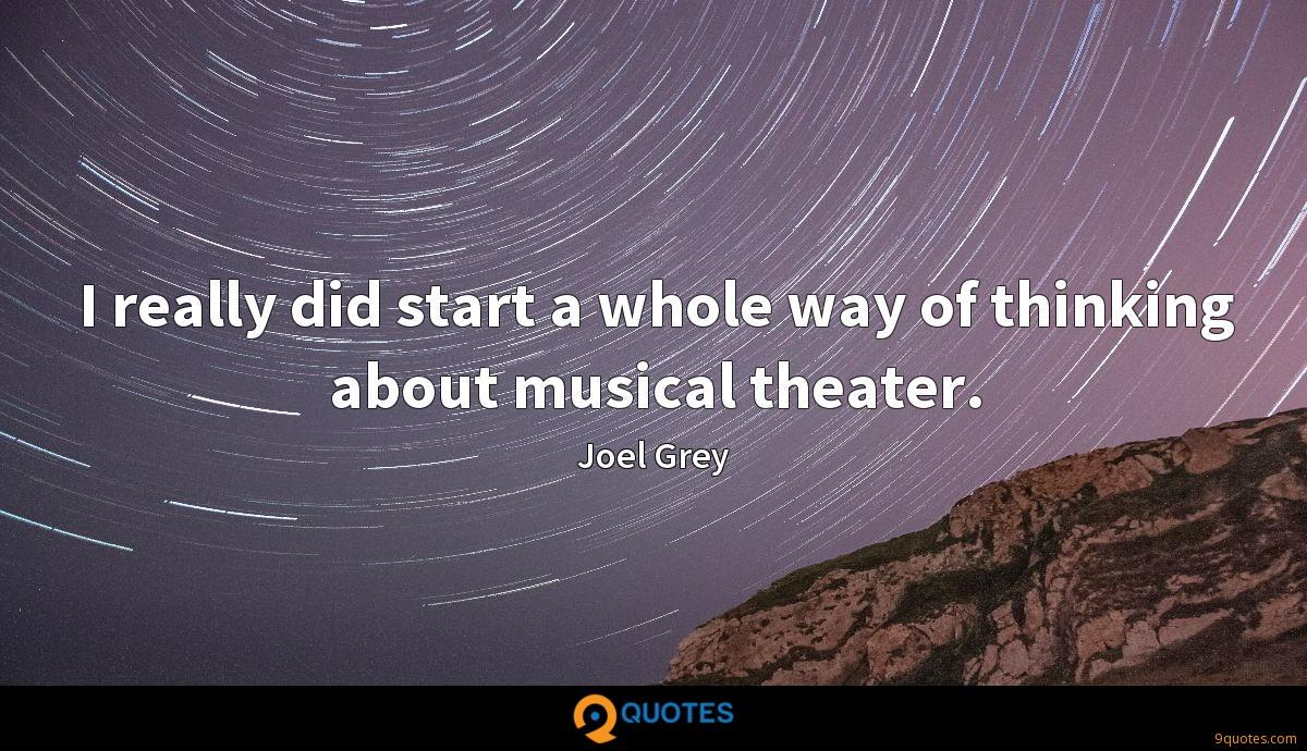 Joel Grey quotes