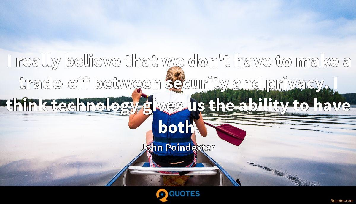 John Poindexter quotes