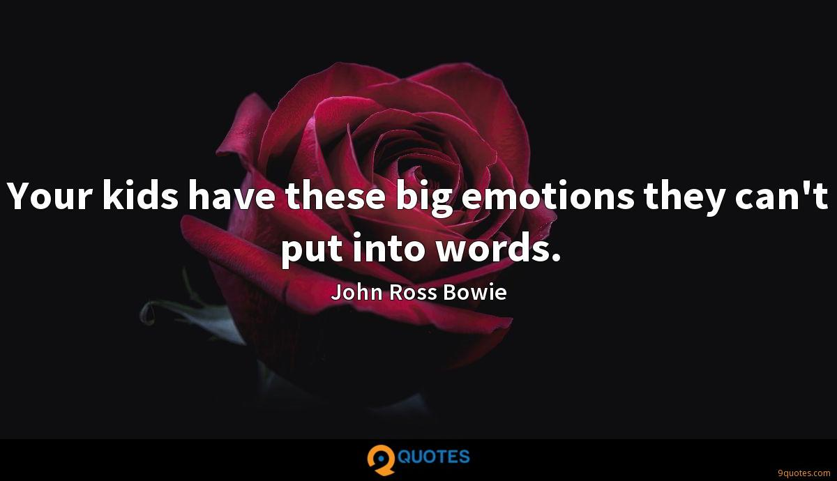 John Ross Bowie quotes
