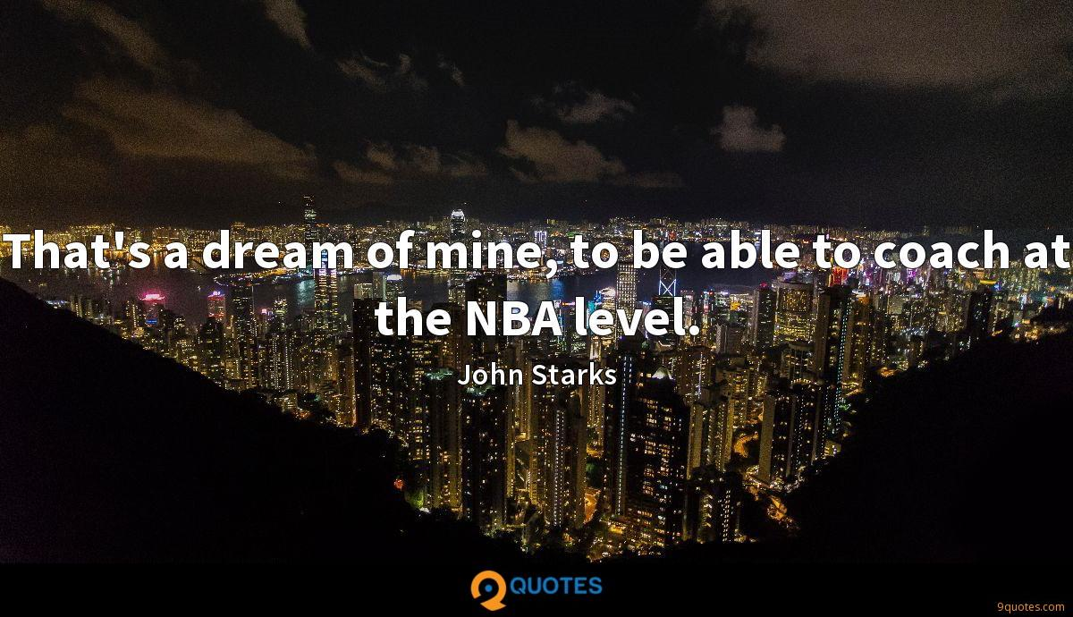 John Starks quotes