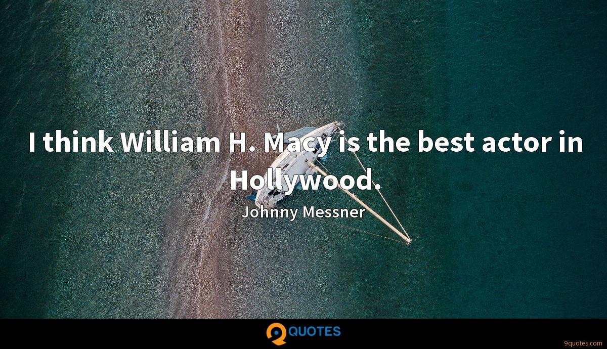 Johnny Messner quotes