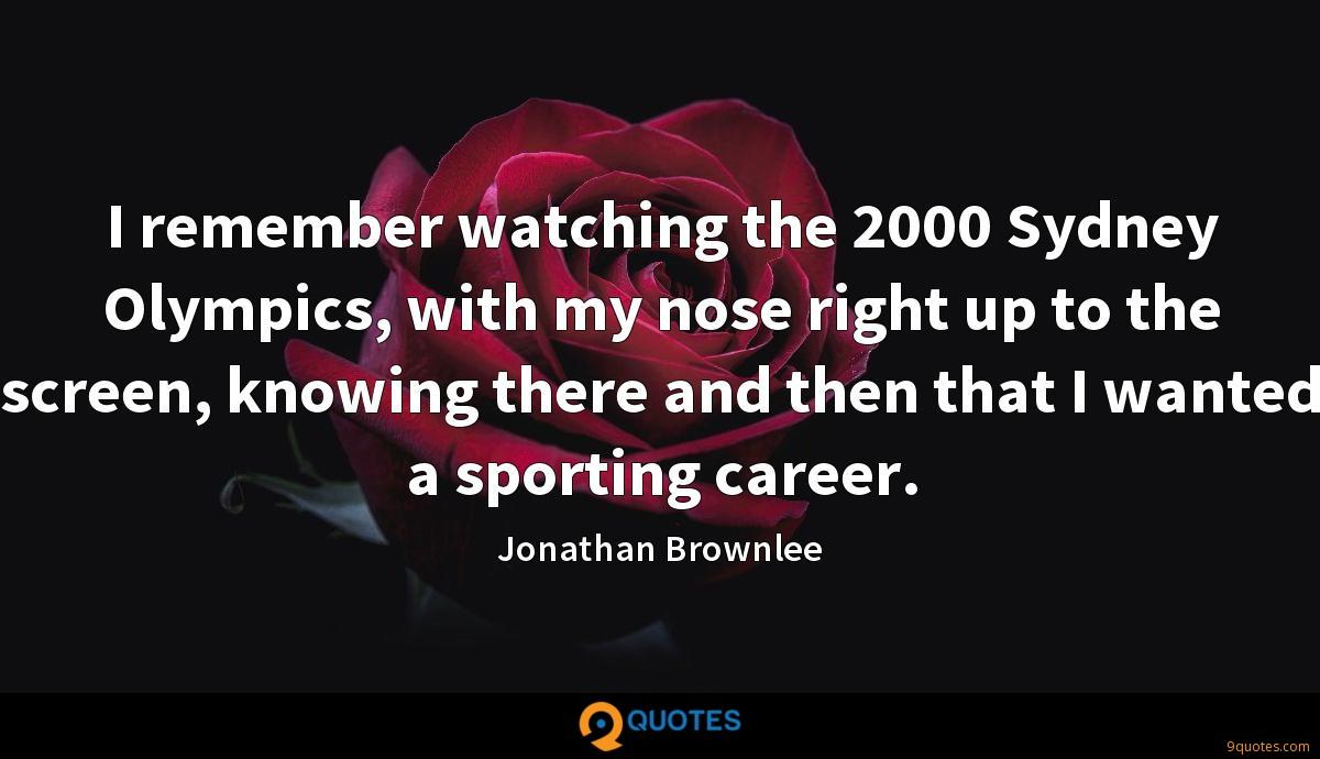 Jonathan Brownlee quotes