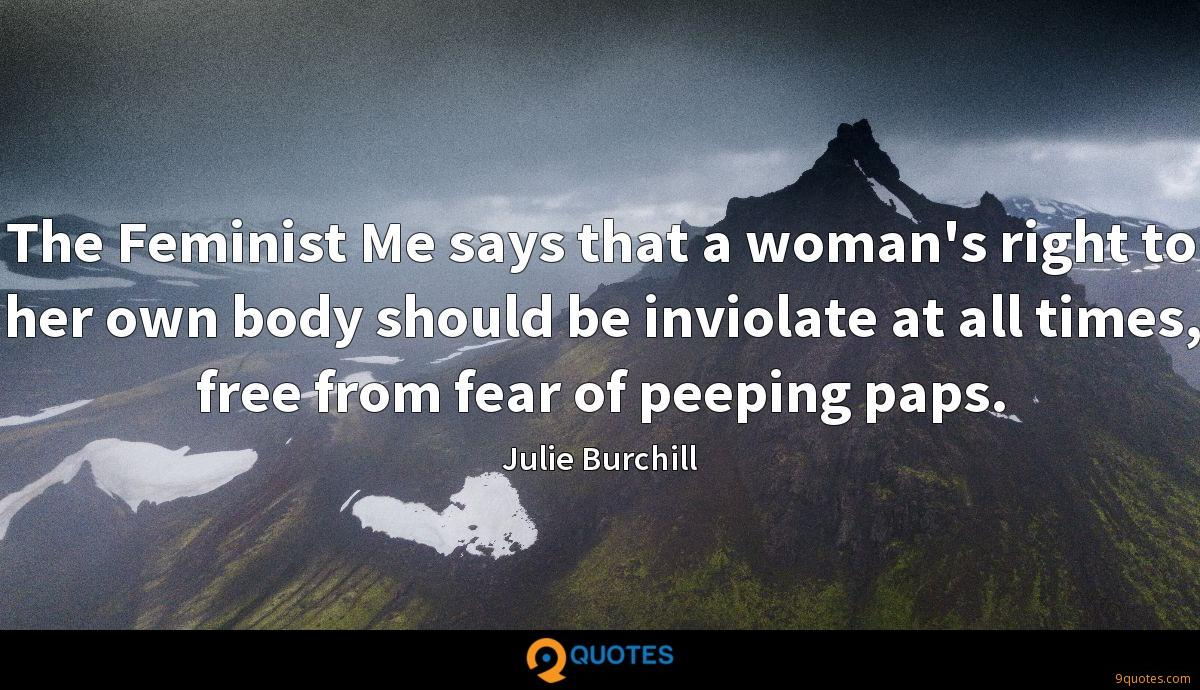 Julie Burchill quotes