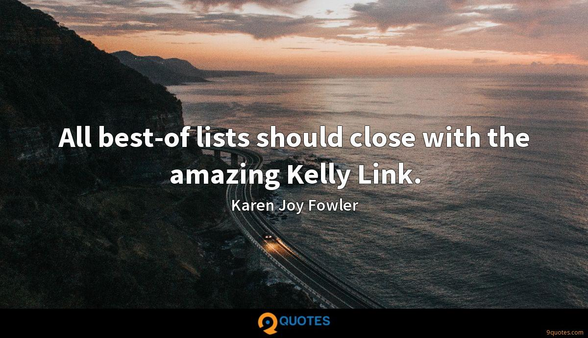 All best-of lists should close with the amazing Kelly Link.