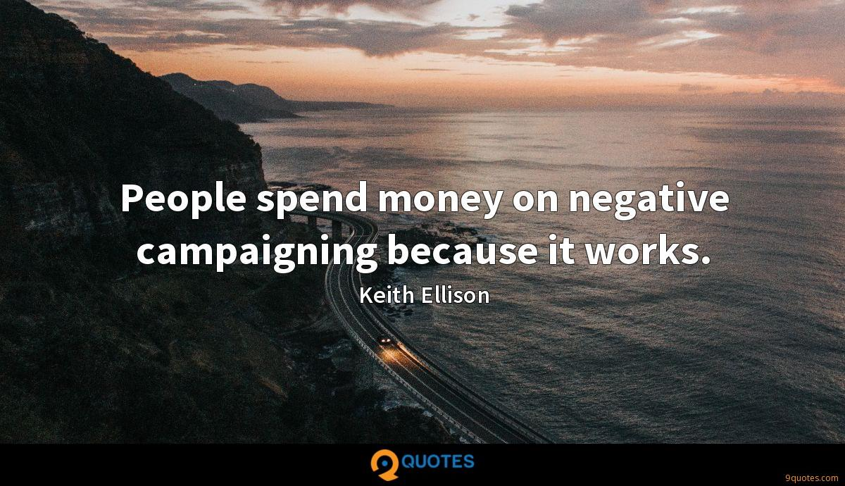 People spend money on negative campaigning because it works.