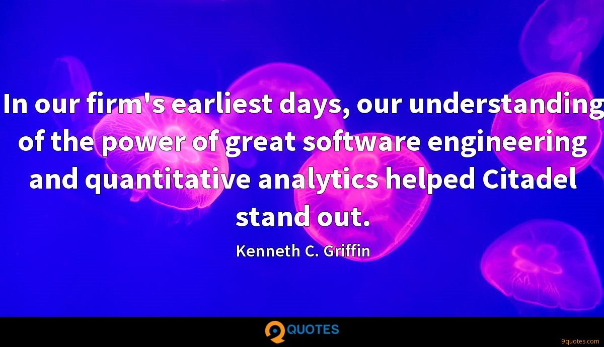 Kenneth C. Griffin quotes