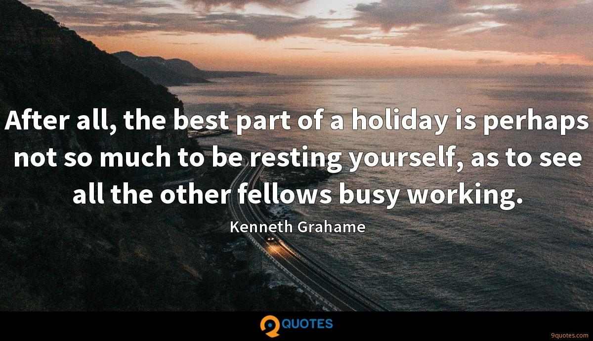Kenneth Grahame quotes