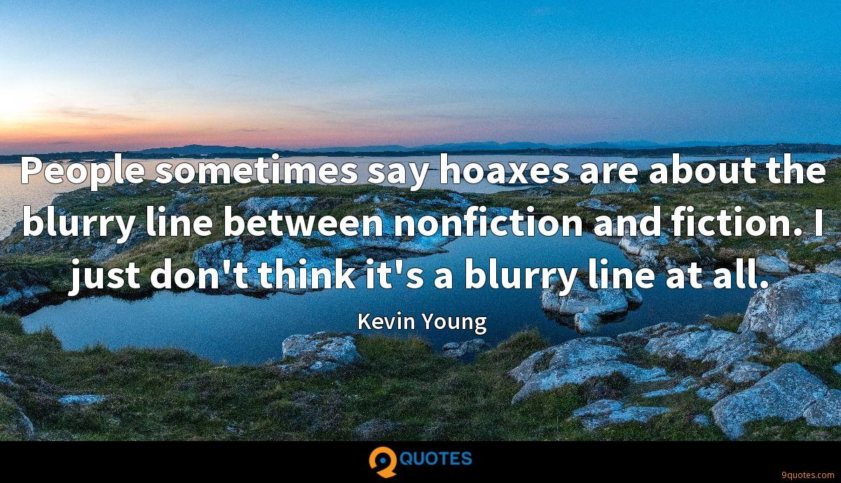 Kevin Young quotes