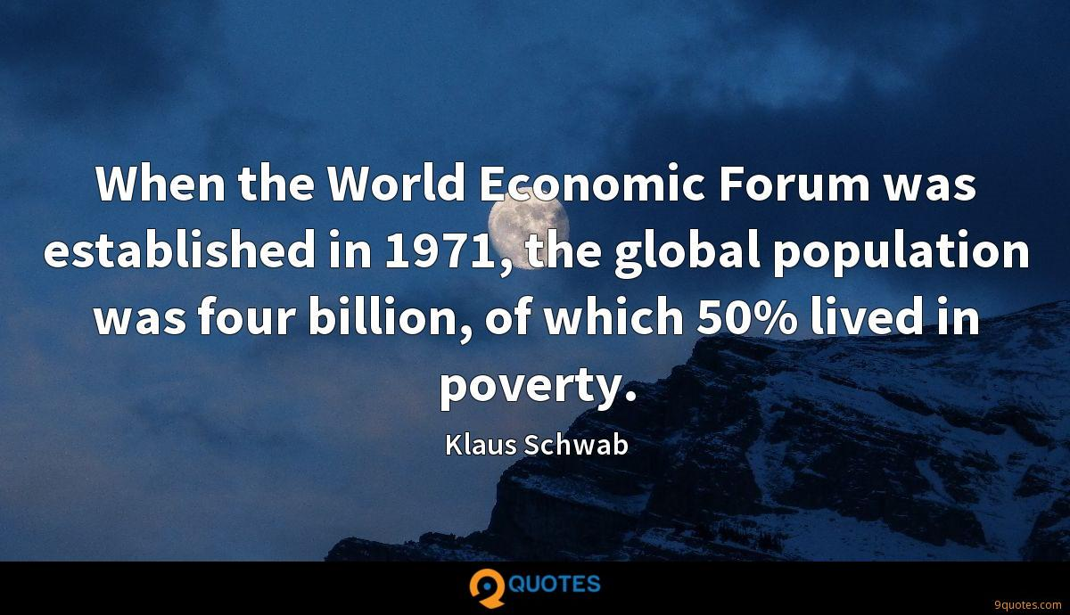 Klaus Schwab quotes