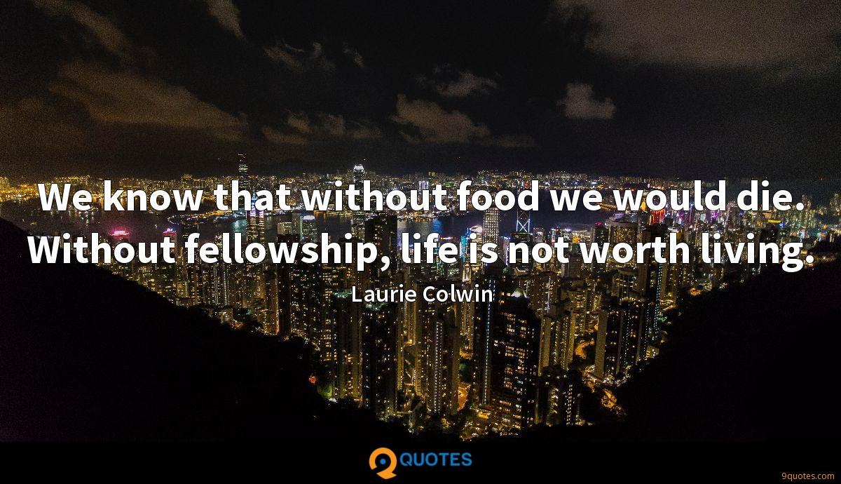 Laurie Colwin quotes