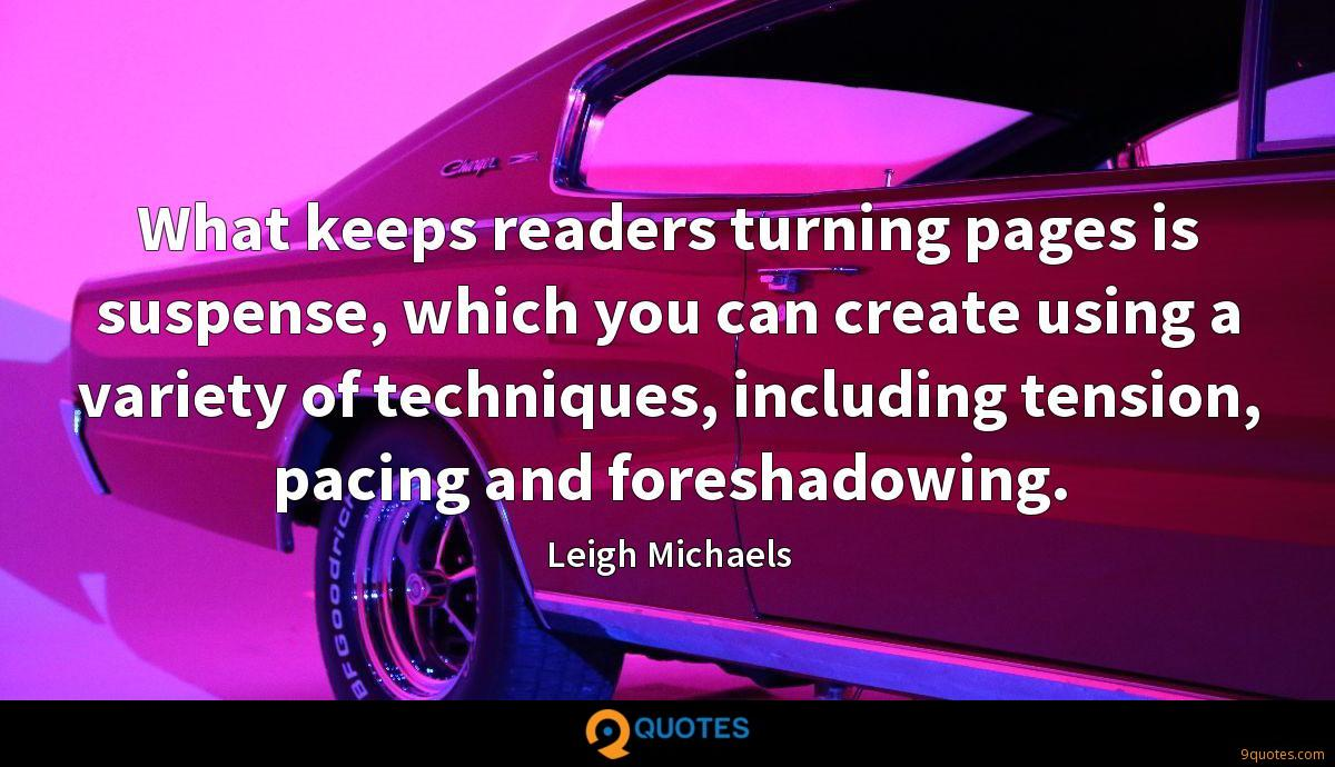 Leigh Michaels quotes