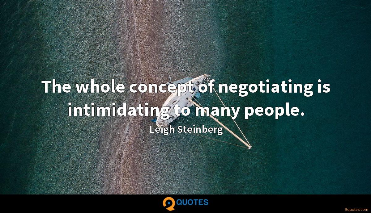 The whole concept of negotiating is intimidating to many people.