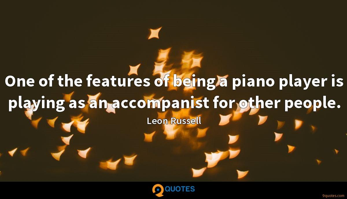 Leon Russell quotes