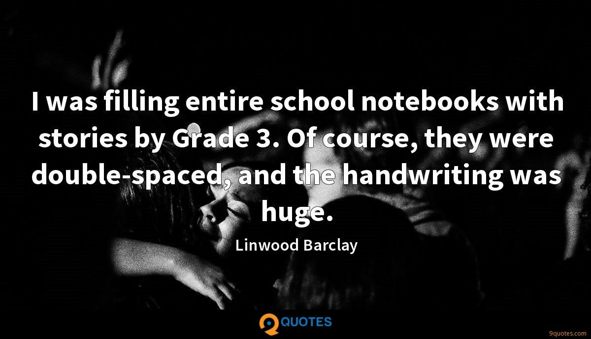 Linwood Barclay quotes
