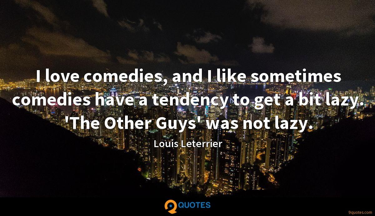 I love comedies, and I like sometimes comedies have a tendency to get a bit lazy. 'The Other Guys' was not lazy.