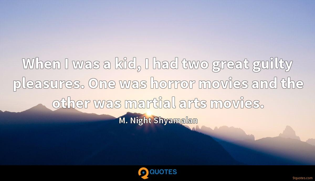 When I was a kid, I had two great guilty pleasures. One was horror movies and the other was martial arts movies.
