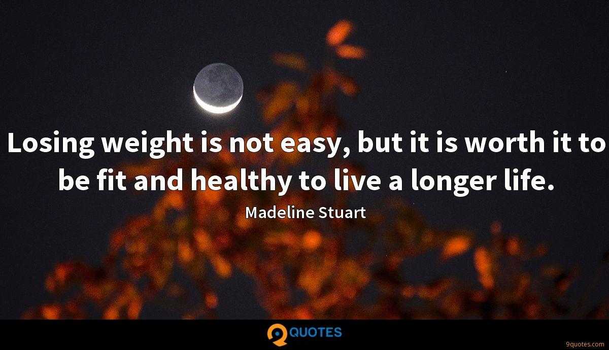Losing weight is not easy, but it is worth it to be fit and healthy to live a longer life.