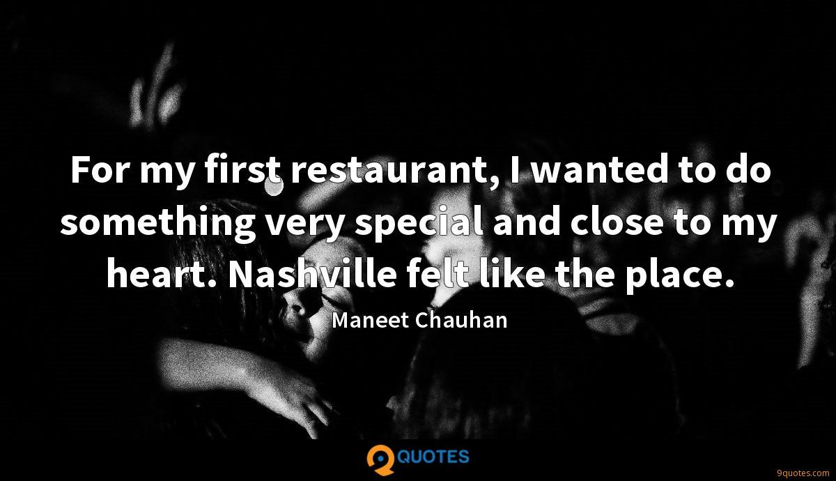 Maneet Chauhan quotes