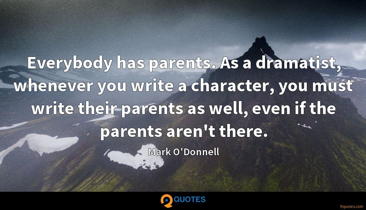 Mark O'Donnell quotes