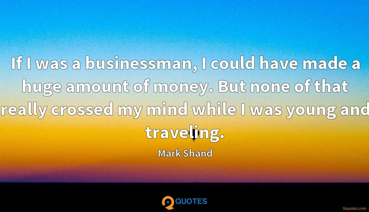 Mark Shand quotes
