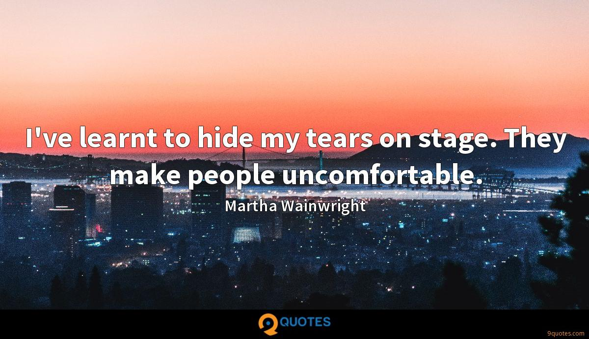 Martha Wainwright quotes