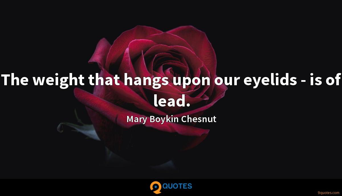 Mary Boykin Chesnut quotes