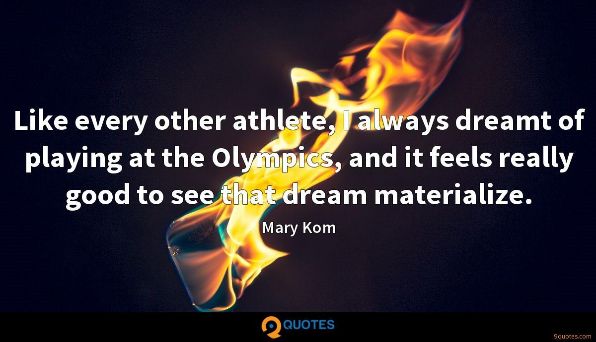 Mary Kom quotes