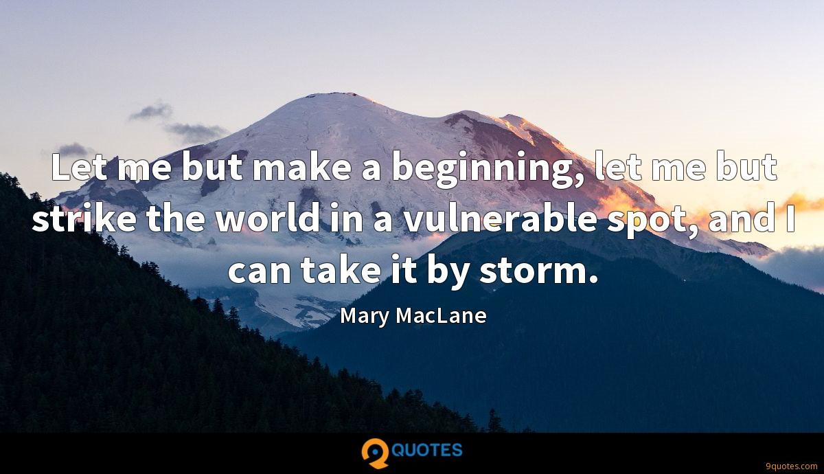 Mary MacLane quotes