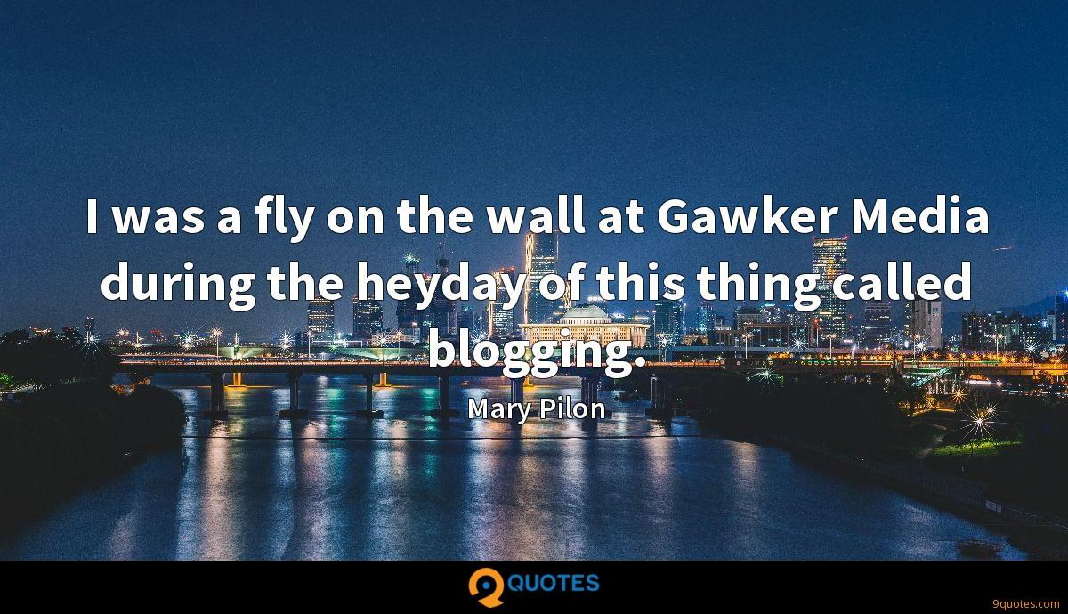 I was a fly on the wall at Gawker Media during the heyday of this thing called blogging.