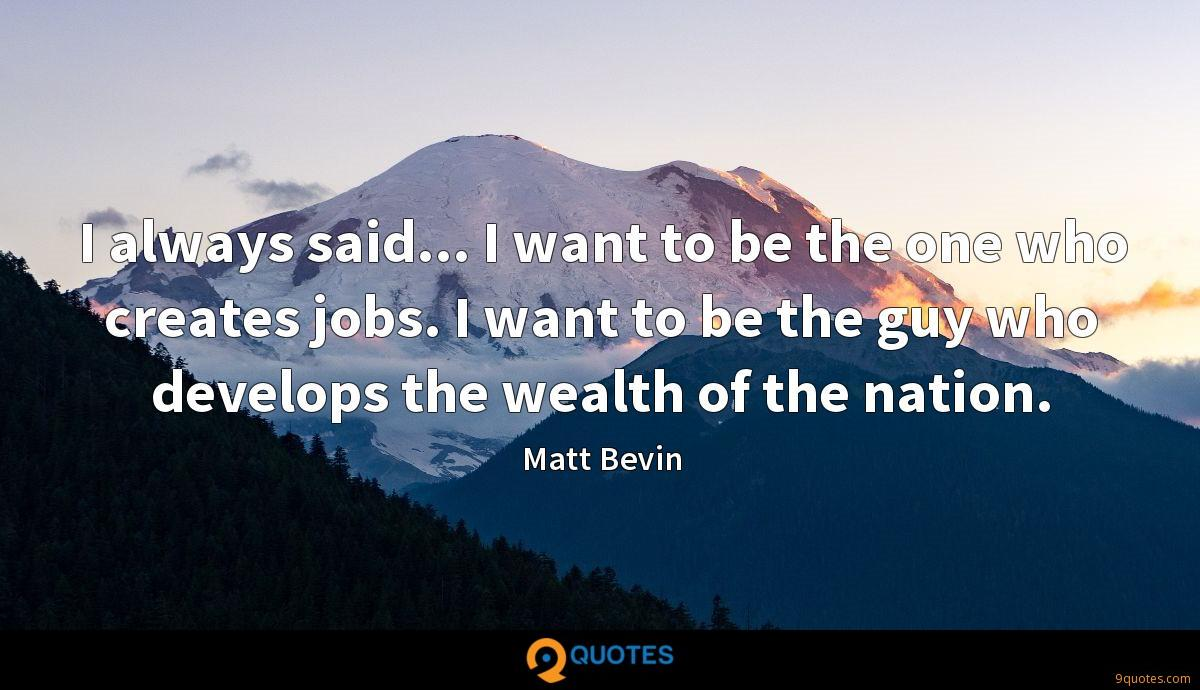 Matt Bevin quotes