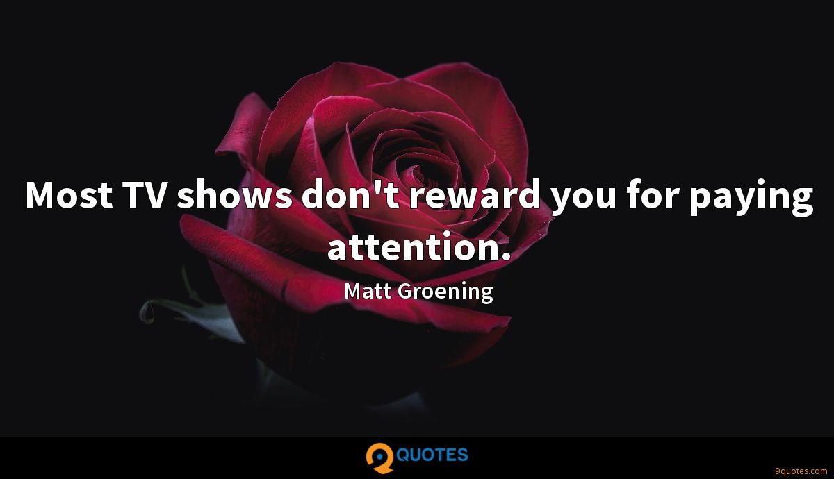 Most TV shows don't reward you for paying attention.