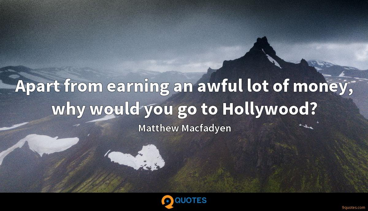 Matthew Macfadyen quotes