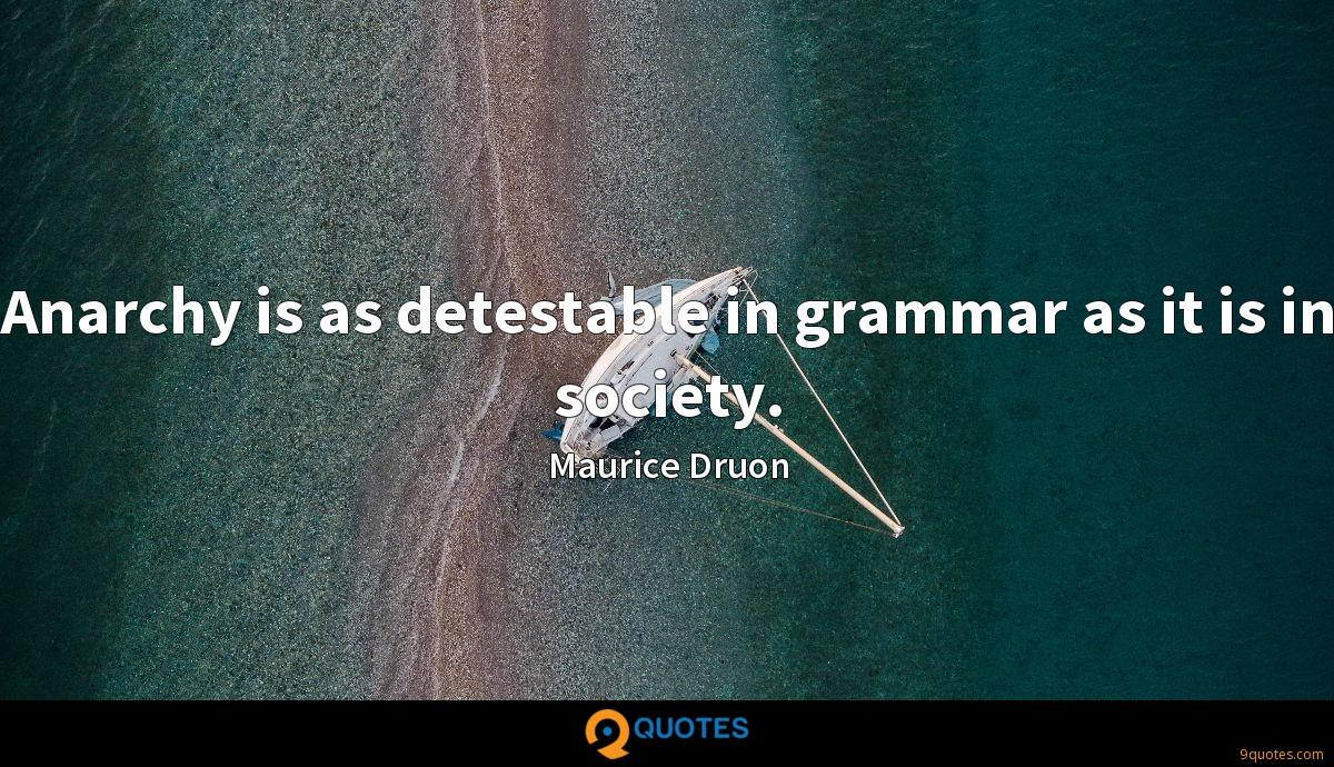Maurice Druon quotes