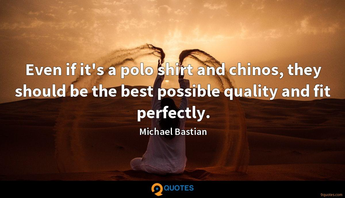 Michael Bastian quotes