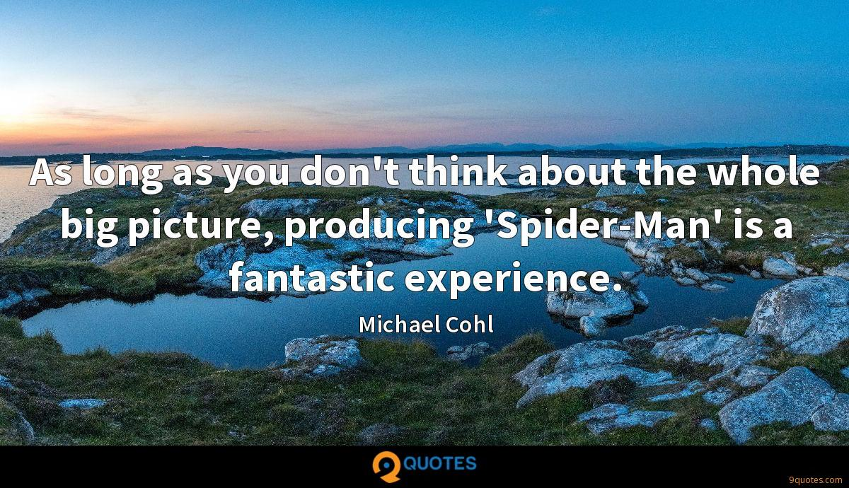 Michael Cohl quotes