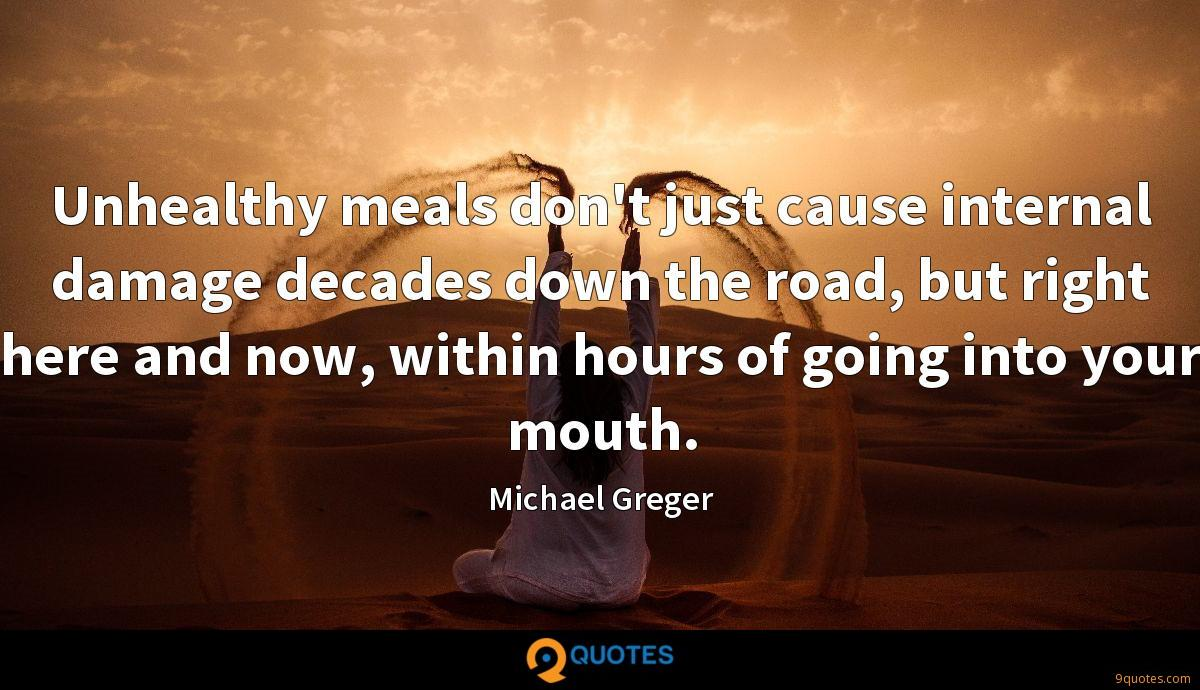 Michael Greger quotes